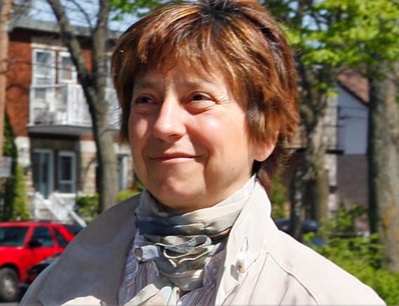 Françoise David, porte-parole de Québec solidaire....