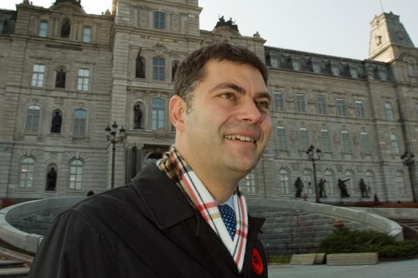 Mario Dumont... (La Presse Canadienne)