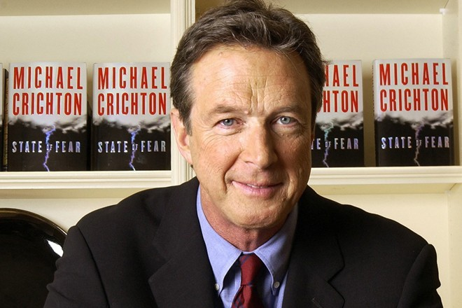Michael Crichton... (Photo: archives La Presse)