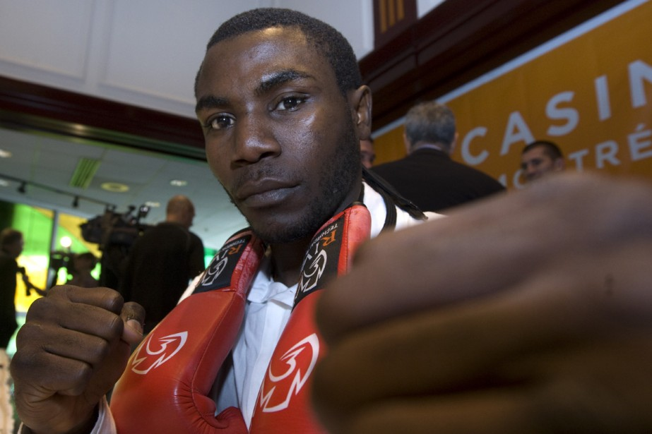 Hermann Ngoudjo... (Photo: Rémi Lemée, La Presse)