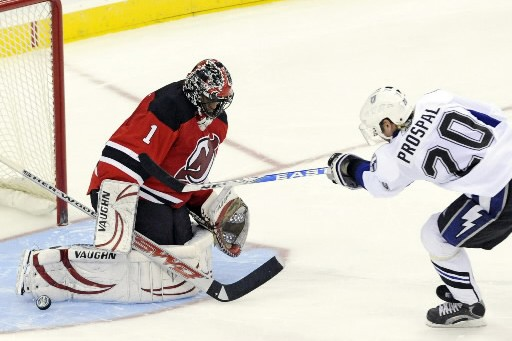 Vingt-quatre heures après que les Devils eurent appris que Martin... (Photo AP)