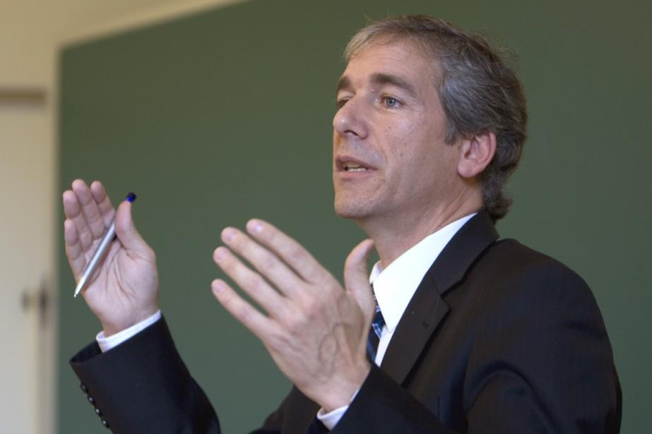 Guy Rainville, chef du Parti vert.... (Photo: Alain Roberge, La Presse)