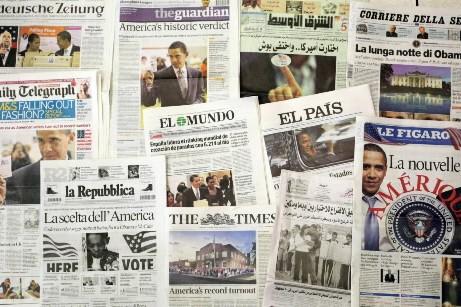 L'obamania a atteint son comble sur la planète.... (Photo: AFP)