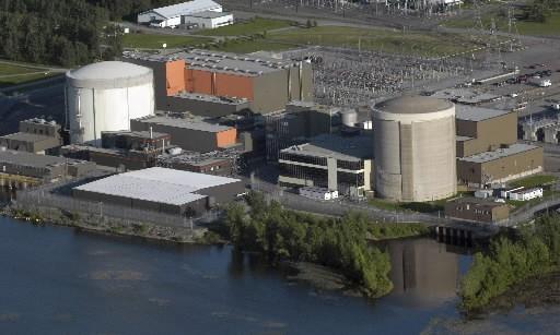 La centrale nucléaire Gentilly-2.... (Archives La Presse)