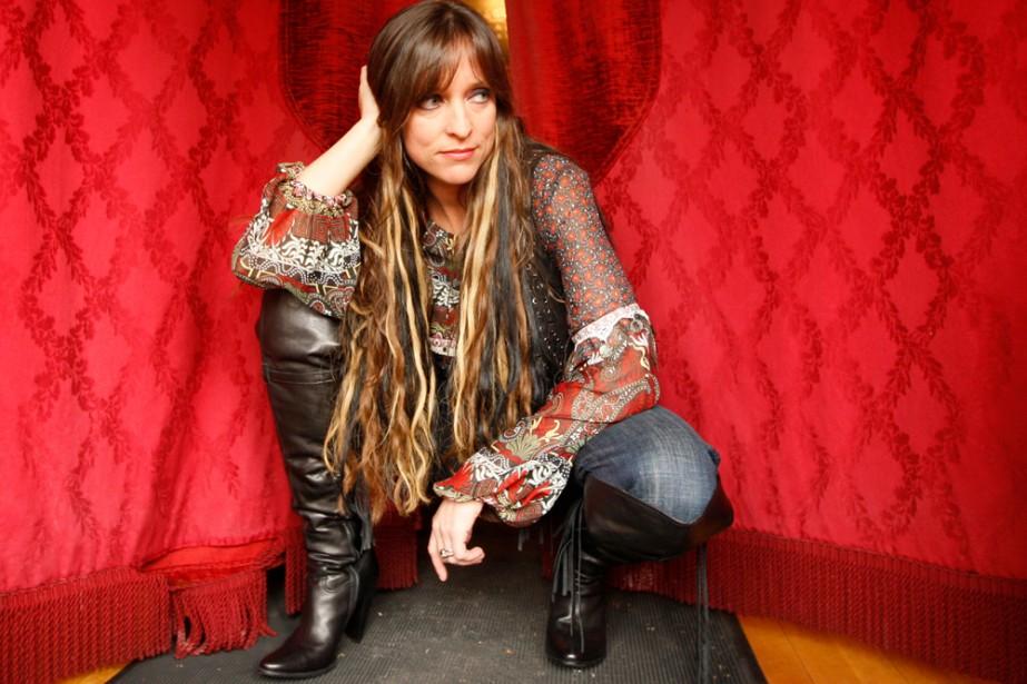 Lynda Lemay... (Photo: Martin Chamberland, La Presse)