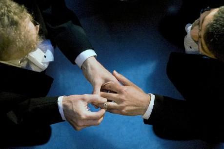 Les groupes américains de défense des droits des homosexuels ont... (Photo: AP)