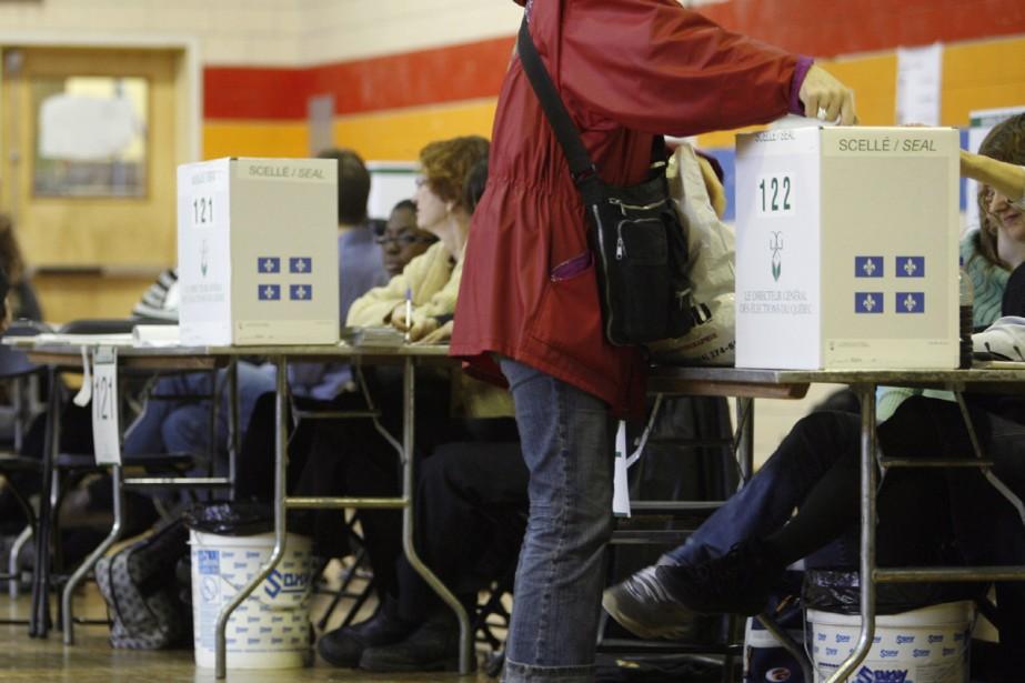 Insatisfait du taux de participation électoral qui... (Archives La Presse)