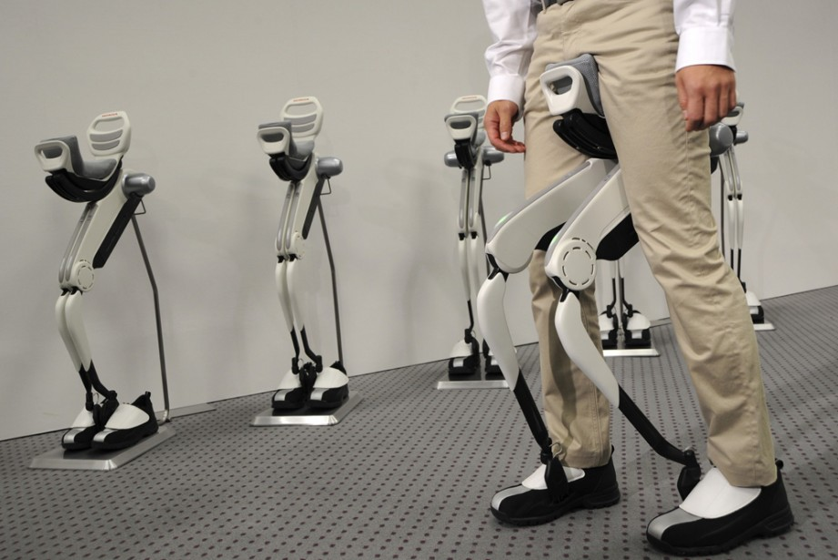 Les jambes artificielles signées Honda... (AP)