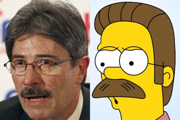 Gilles Taillon et Ned Flanders...