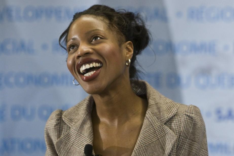 Âgée d'à peine 30 ans, Yolande James, ministre... (Photo: Rémi Lemée, archives La Presse)