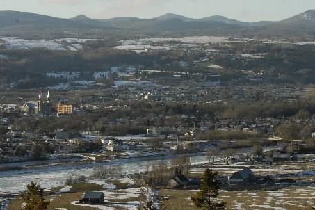 Le village de Baie-Saint-Paul dans la région de... (Photo: Bernard Brault, Archives La Presse)