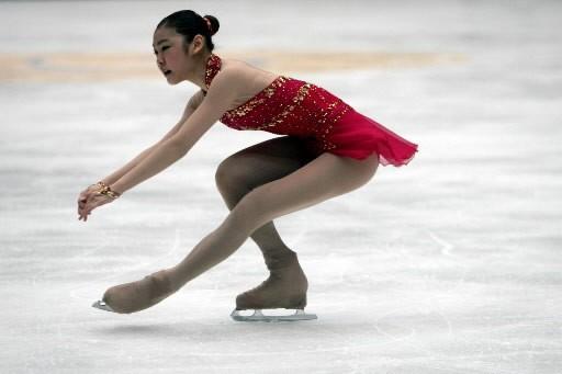 Kim  Yu- na... (Photo: AP)