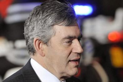 Gordon Brown... (Photo: AFP)