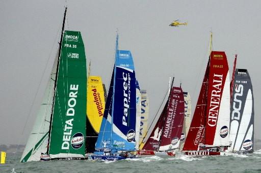 Les 30 skippeurs du Vendée Globe ont pris, dimanche à 13h02... (Photo: Reuters)