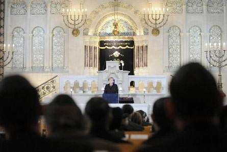 La chancellière allemande, Angela Merkel, s'est prononcée durant... (Photo: AFP)