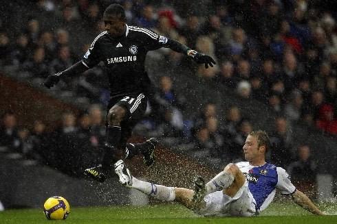 Le match opposant Chelsea et Blackburn a été... (Photo: AP)