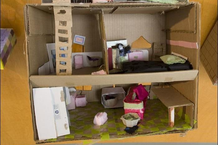 Rouleaux de papier hygiénique, boîtes de conserve, barquettes... (Photo: Patrick Sanfaçon, La Presse)