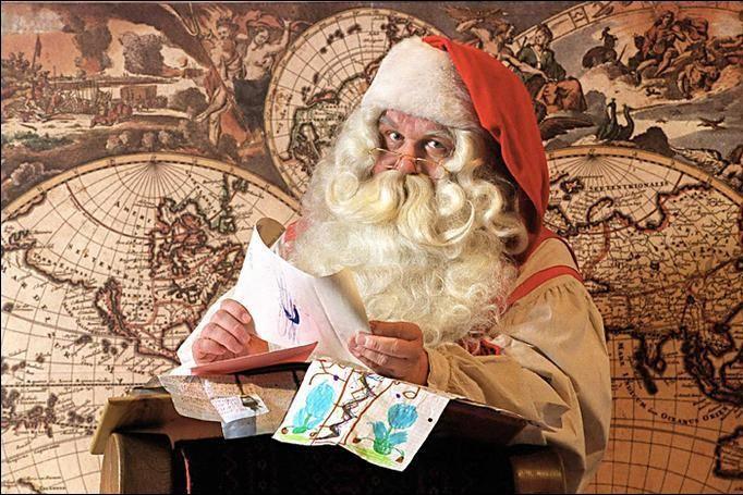 Plus qu'une simple tradition, croire au père Noël... (Photothèque Le Soleil)