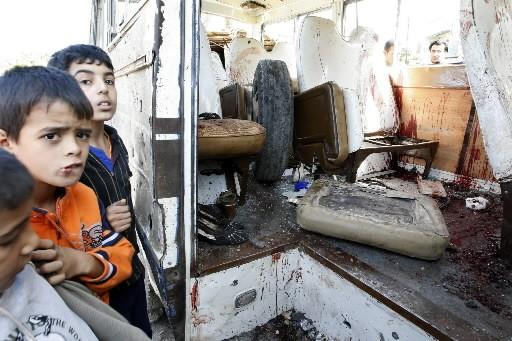 Un double attentat a fait 28 morts et des dizaines de blessés... (Photo: AFP)