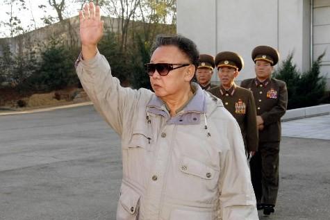 Le dirigeant nord-coréen Kim Jong-Il... (Photo: AFP)