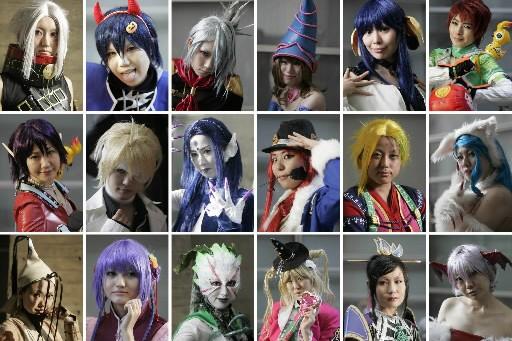 Plusieurs «cosplayers» ont assisté au Tokyo Game Show,... (Photo : Reuters)