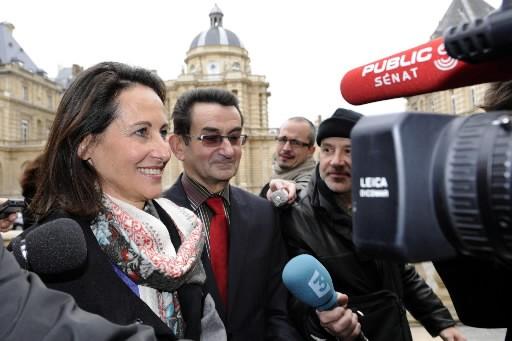 Ségolène Royal... (Photo: AFP)