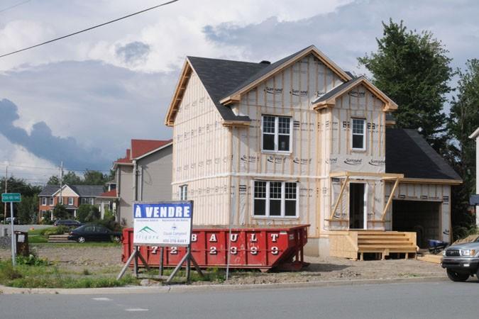 La hausse de la valeur des maisons n'a... (photo Archives La Voix de l'Est)
