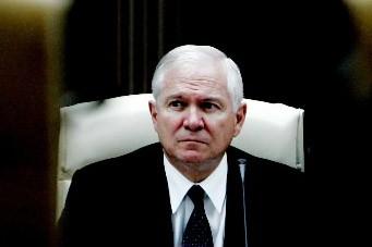 Le secrétaire américain à la défense Robert Gates... (Photo: AP)