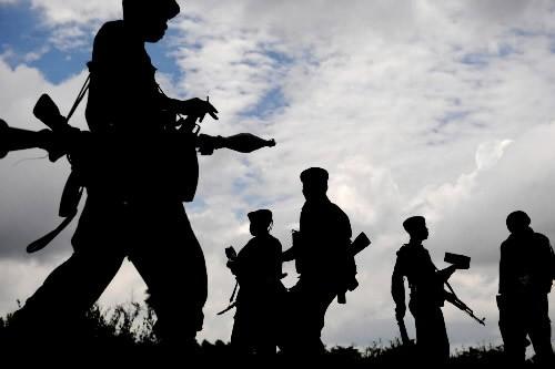 Des centaines de soldats congolais ont saccagé des villages dans... (Photo: AFP)