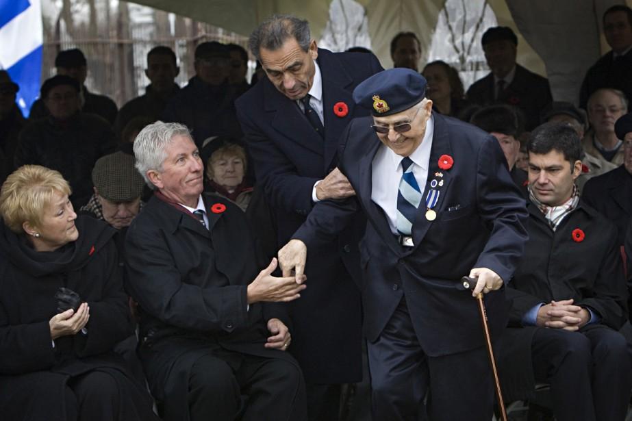 Le vétéran Nicolas Zavilliaris a été honoré hier... (Photo: Ivanoh Demers, La Presse)