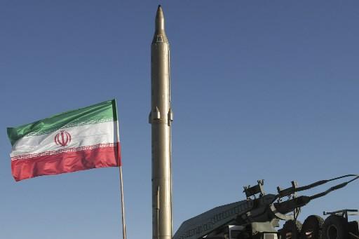 Un missile iranien... (Photo: AP)