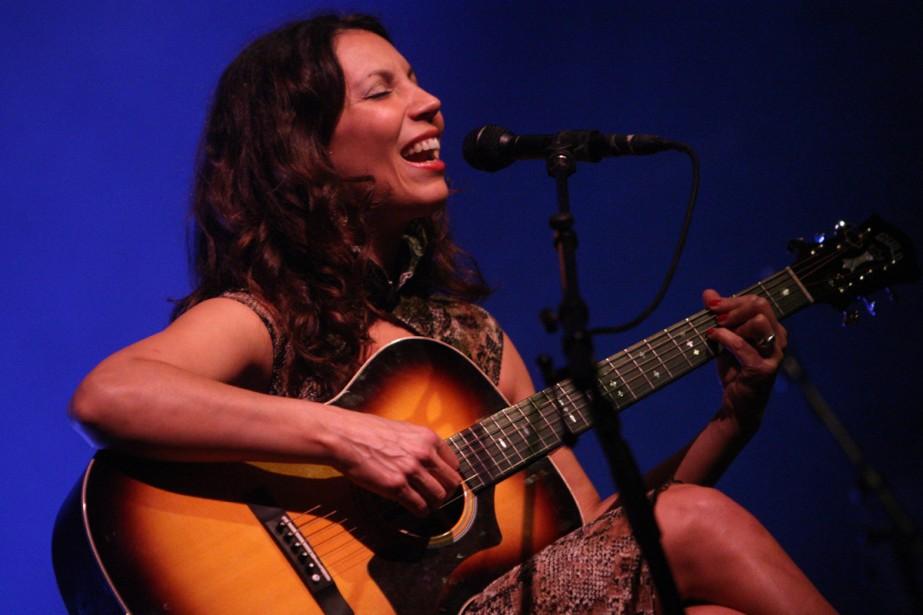 La chanteuse Bïa... (Photo: Martin Chamberland, La Presse)