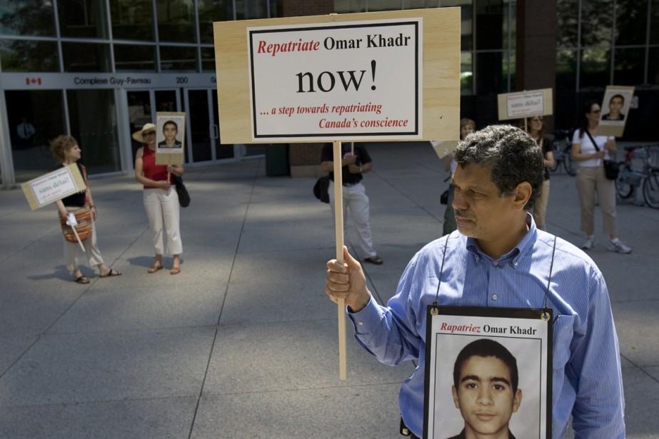 Le sort du jeune citoyen canadien Omar Khadr,... (Archives La Presse)
