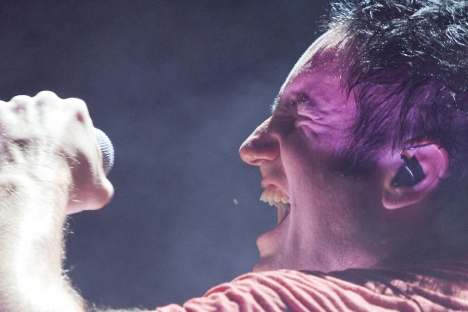 Le groupe Nine Inch Nails était de passage... (Photo: André Pichette, La Presse)