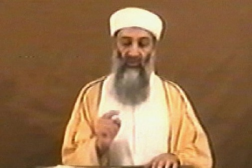 Oussama ben Laden... (Photo AFP)