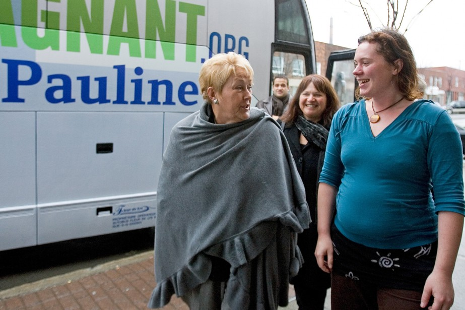 La chef du Parti québécois Pauline Marois a... (Photo La Presse Canadienne)