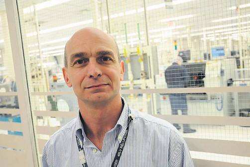 L'ingénieur principal de l'usine IBM de Bromont, David... (La Voix de l'Est)