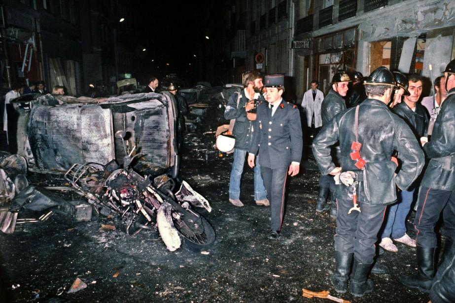 L'attentat de la rue Copernic avait fait 4... (Archives AFP)