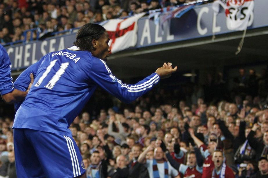 Didier Drogba... (Photo: AP)