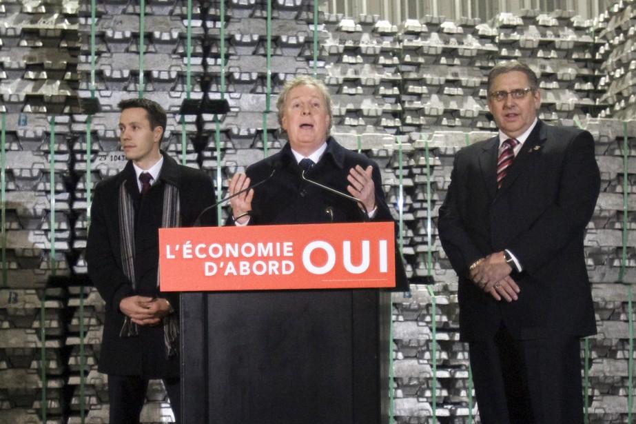 Alors qu'il était invité à titre de premier... (Photo La Presse Canadienne)