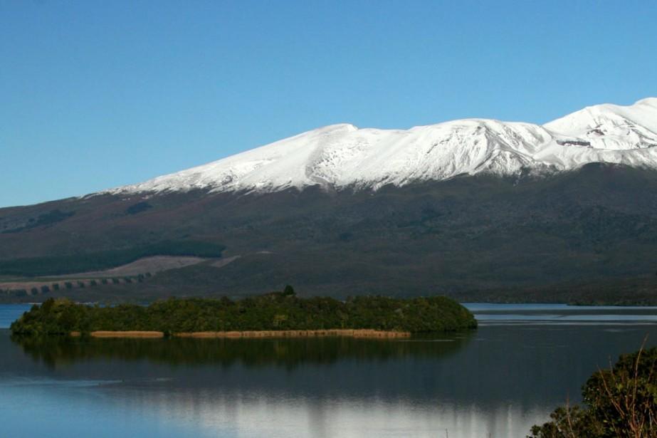 De magnifiques sommets enneigés de Nouvelle-Zélande.... (Photo: Pascale Otis, collaboration spéciale)