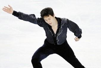 Le Canadien de 17 ans Patrick Chan a remporté samedi le... (Photo: Reuters)
