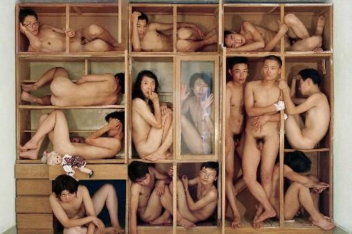 Sur cette photo, les frères Gao dépeignent le... (photo fournie par la galerie Art Mur)