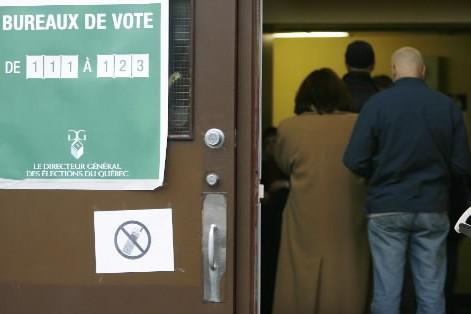Convaincre un électeur d'acheter le... (Photo: François Roy, Archives La Presse)