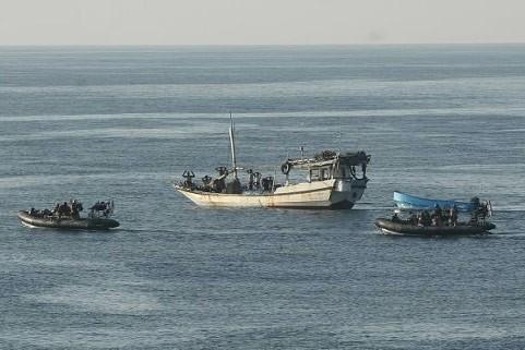Un groupe de pirates au large de la... (Photo: Bloomberg)