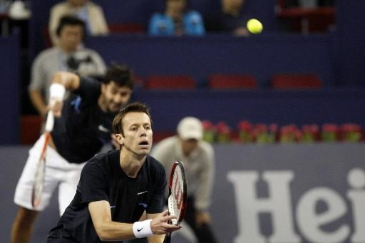 Le Canadien Daniel Nestor et le Serbe Nenad Zimonjic ont... (Photo: Bloomberg)