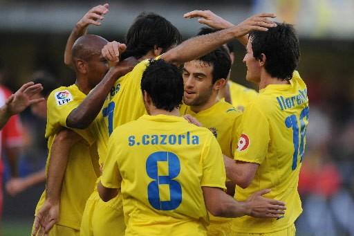 Villarreal, seule équipe invaincue du Championnat d'Espagne de... (Photo: AFP)