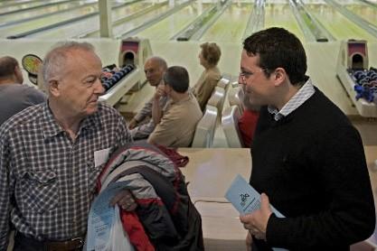 Le candidat adéquiste Simon-Pierre Diamond... (Photo: Ivanoh Demers, La Presse)