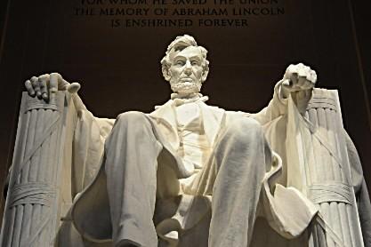 Statue d'Abraham Lincoln à Washington.... (Photo: AFP)