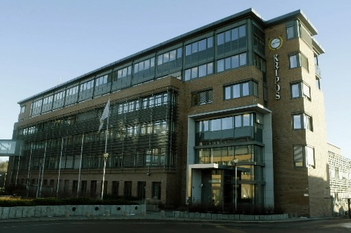 Le siège de la police criminelle norvégienne (Kripos),à... (Photo: AFP)